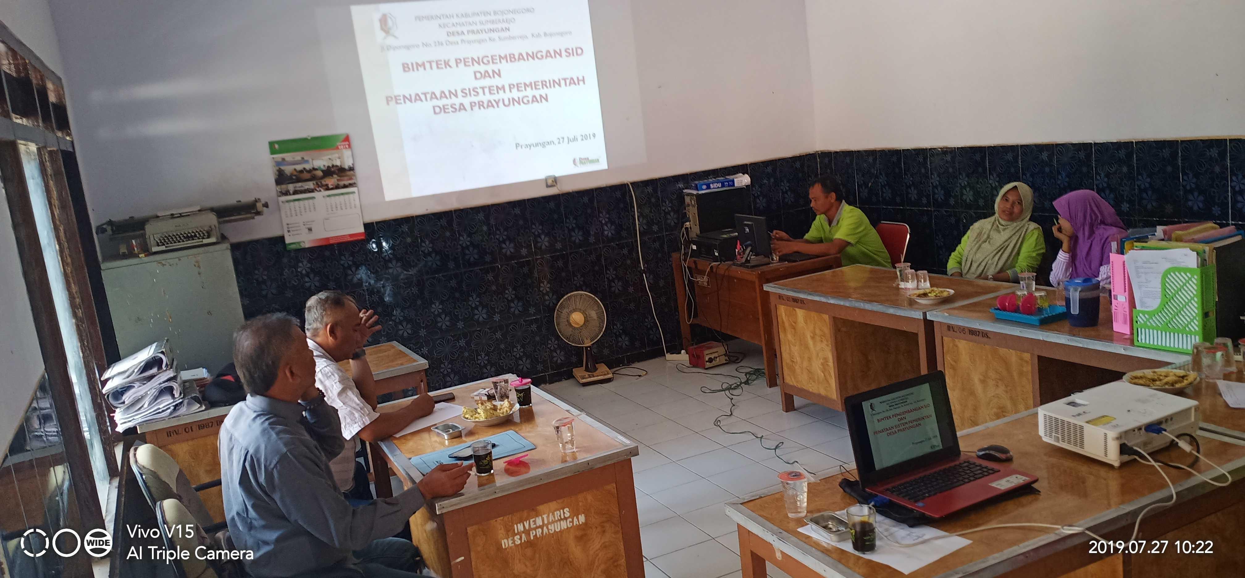 Admin Desa Prayungan Mengikuti Pelatihan Website Desa Di Desa Pejambon Website Desa Prayungan