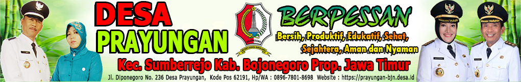 WEBSITE DESA PRAYUNGAN